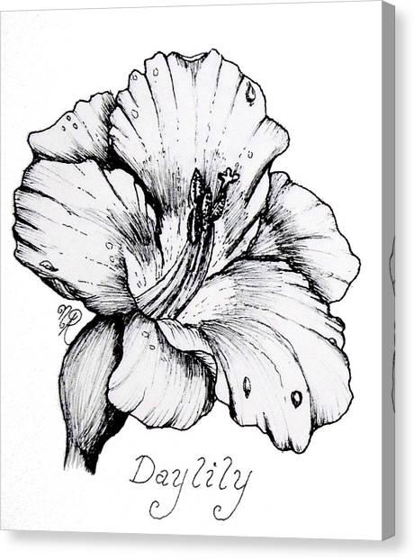 Luscious Daylily  Canvas Print