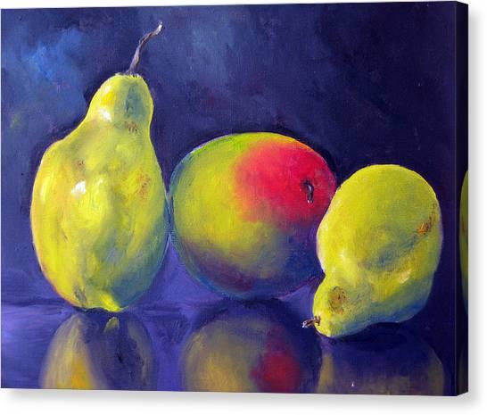 Luscious Trio Canvas Print