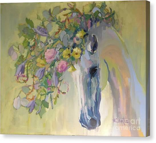 Rebirth Canvas Print - Lush by Kimberly Santini