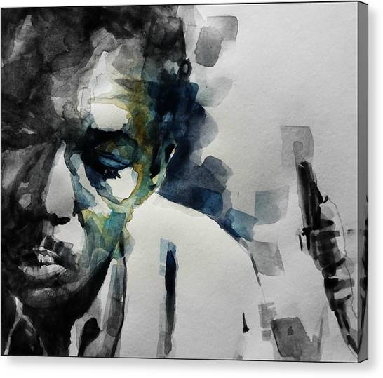 Saxophone Canvas Print - Lush Life  John Coltrane  by Paul Lovering