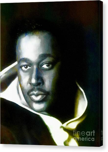 Luther Vandross - Singer  Canvas Print