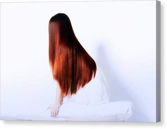 Luxurious Hair Canvas Print