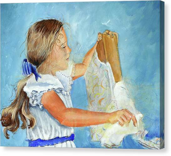 Lydia's 9th Birthday Canvas Print