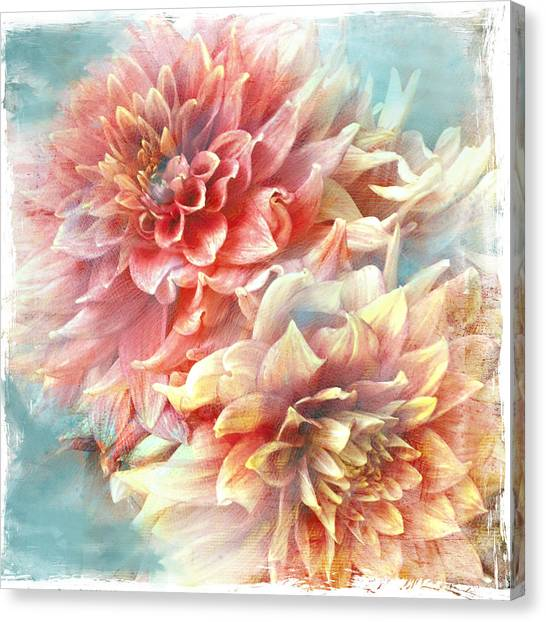 Lynia Dahlia Canvas Print