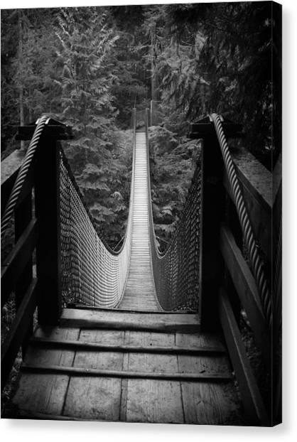 Lynn Canyon Bridge No Sig Canvas Print