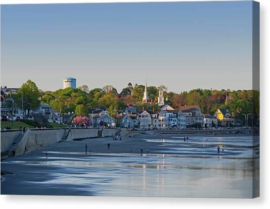 Lynn Waterfront Swampscott Water Tower Lynn Ma Canvas Print