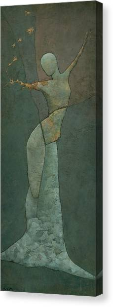 Lyra's Spell Canvas Print