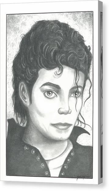 M. J. Canvas Print by Julian  B