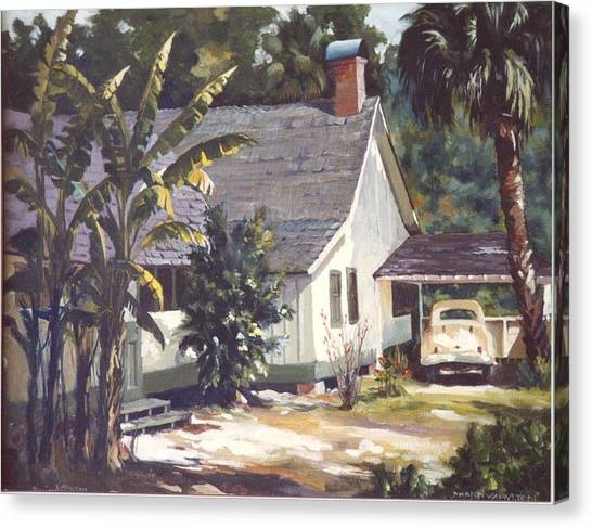 M. K. Rawlings House  Canvas Print by Marion  Hylton
