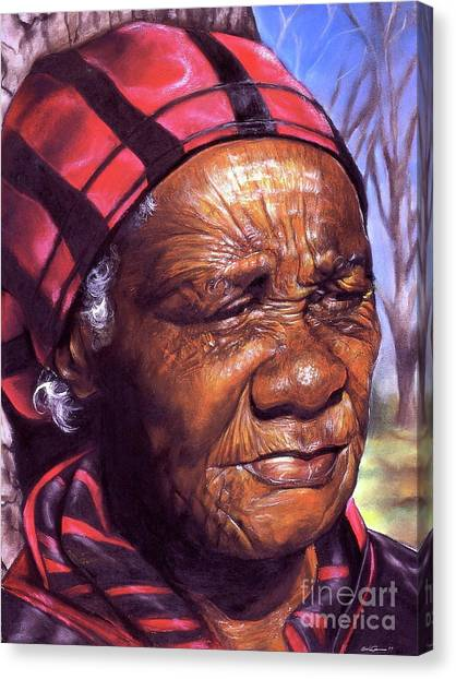 Dea Canvas Print - Ma Dea by Curtis James