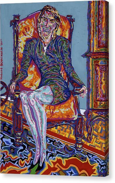Ma Fiancee Canvas Print