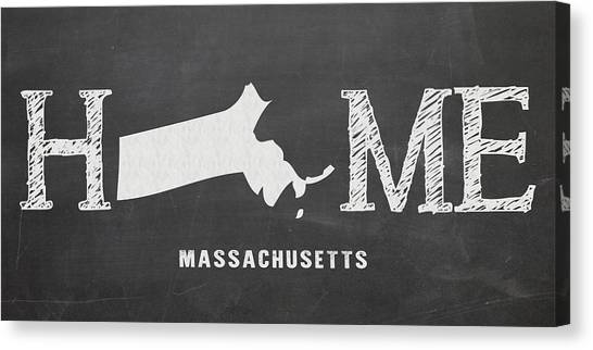 Northeastern University Canvas Print - Ma Home by Nancy Ingersoll
