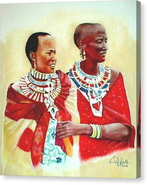 Maasisters Canvas Print