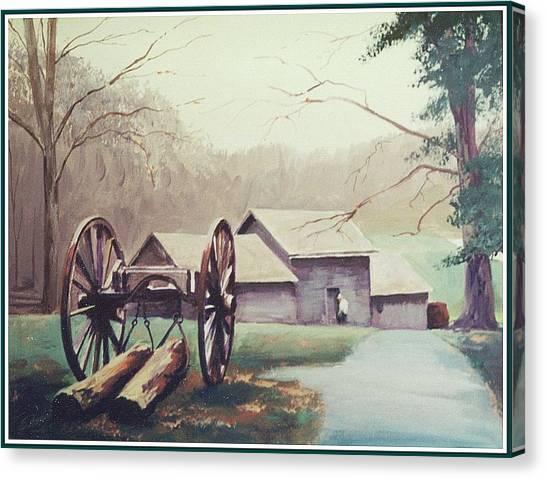 Mabreys Mill Canvas Print by Barry Smith