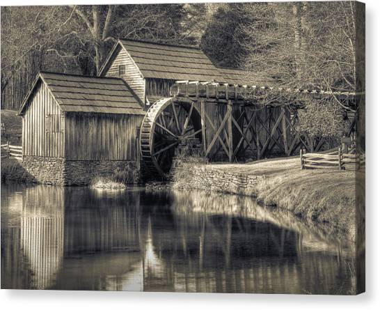Mabry Mill Canvas Print by Harry H Hicklin