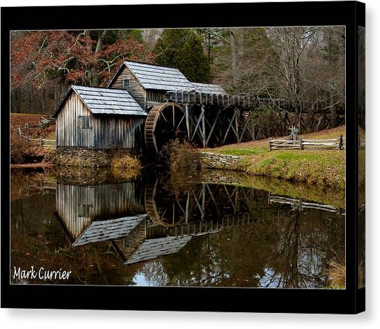 Mabry Mill Iv Canvas Print