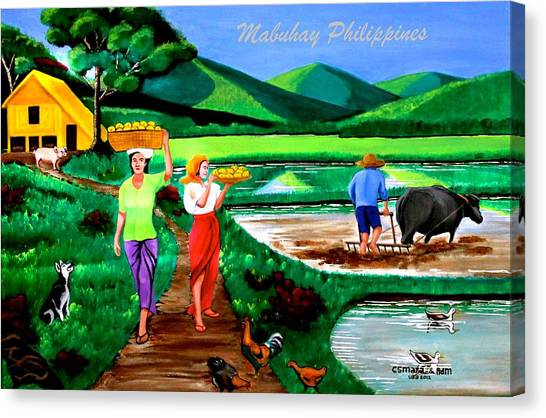 Mabuhay Philippines Canvas Print