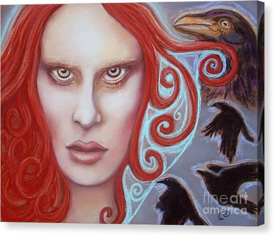 Macha Canvas Print by Tammy Mae Moon