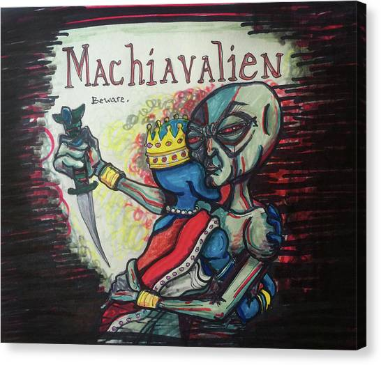 Machiavalien Canvas Print
