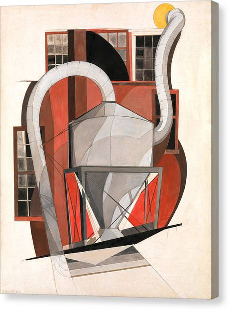 Precisionism Canvas Print - Machinery by Charles Demuth