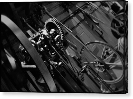 Smithsonian Institute Canvas Print - Machinery Industry by Kyle Hanson