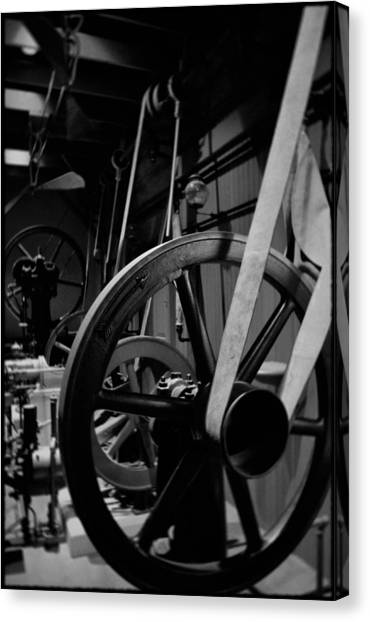 Smithsonian Institute Canvas Print - Machinery Industry Portrait by Kyle Hanson