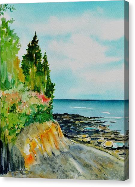Mackworth Island Maine  Canvas Print