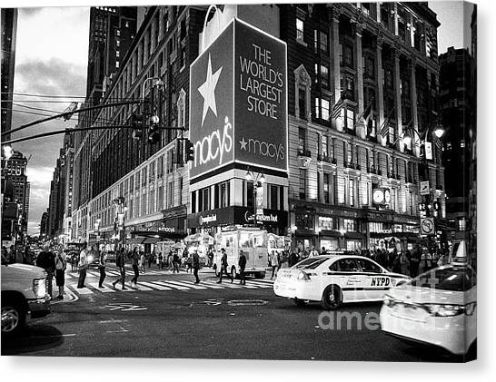 Macys Canvas Prints Fine Art America