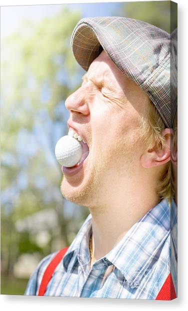 Hard Hat Canvas Print - Mad About Golf by Jorgo Photography - Wall Art Gallery