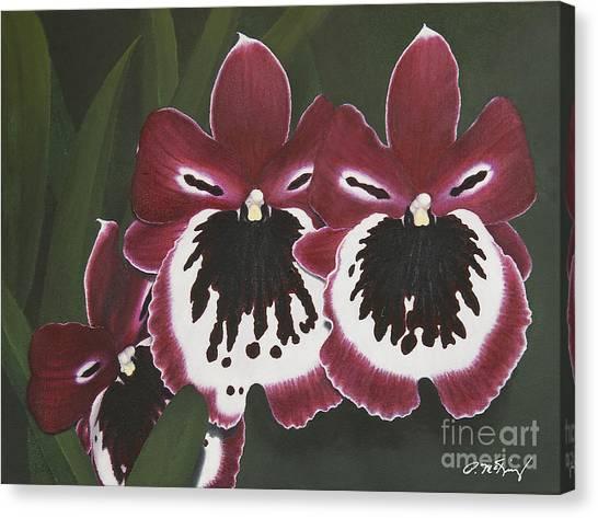 Canvas Print - Madame Pele by Peggy McKinsey
