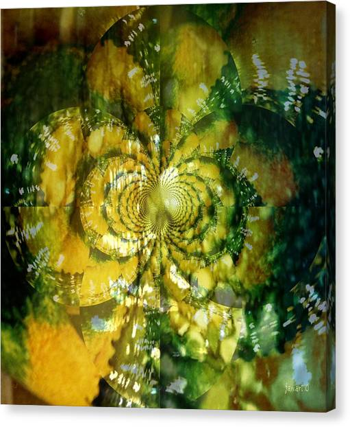 Made For Your Wall Canvas Print by Fania Simon