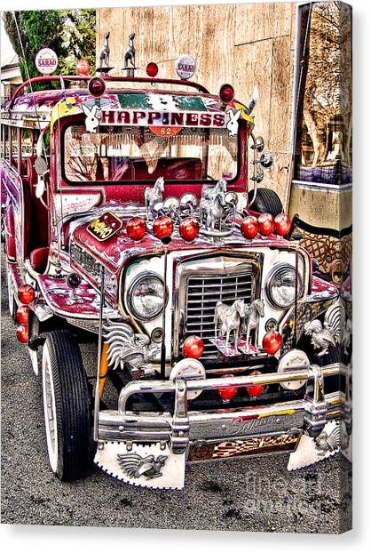 Made In The Philippines Canvas Print