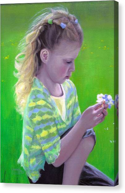 Madeline Canvas Print by Laurel Ellis