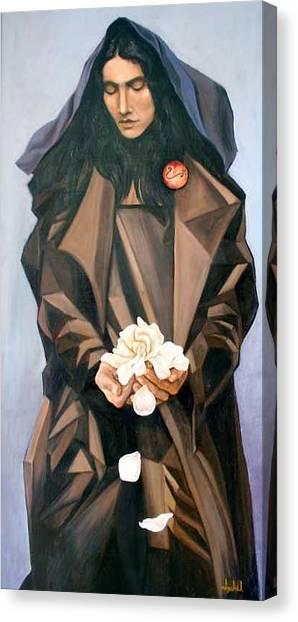 Madonna Canvas Print by Ixchel Amor