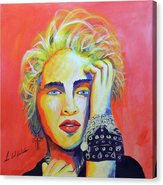 Canvas Print - Madonna by Lee Wolf Winter
