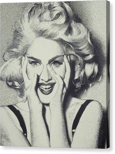 Madonna Canvas Print by Randy Ford