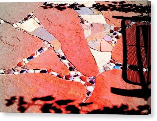Madrid Mosaic.. Canvas Print by Al  Swasey