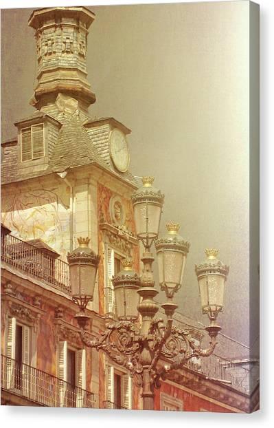 Madrid Thunder Canvas Print by JAMART Photography