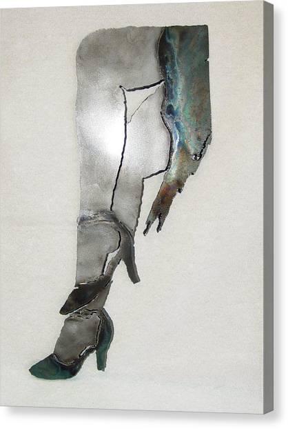 Mae Sold Canvas Print by Steve Mudge