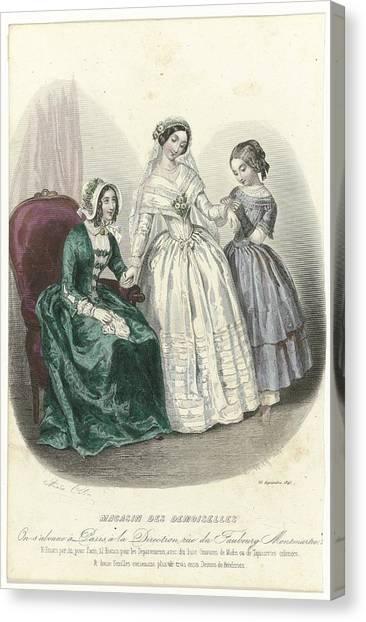Demoiselles Canvas Print - Magasin Des Demoiselles by Celestial Images