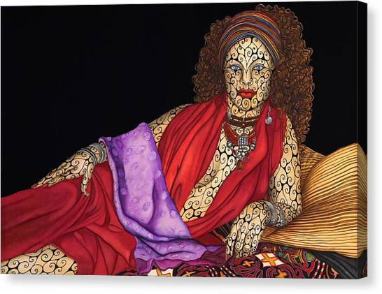 Magdalena Canvas Print by Tina Blondell