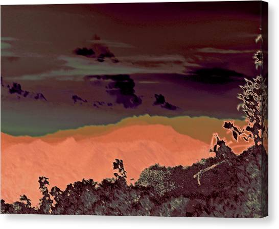 Magellan's Final Twilight 2016 Canvas Print by James Warren
