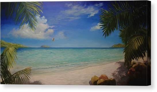 Magens Bay Canvas Print
