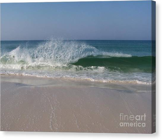 Magestic Wave Canvas Print