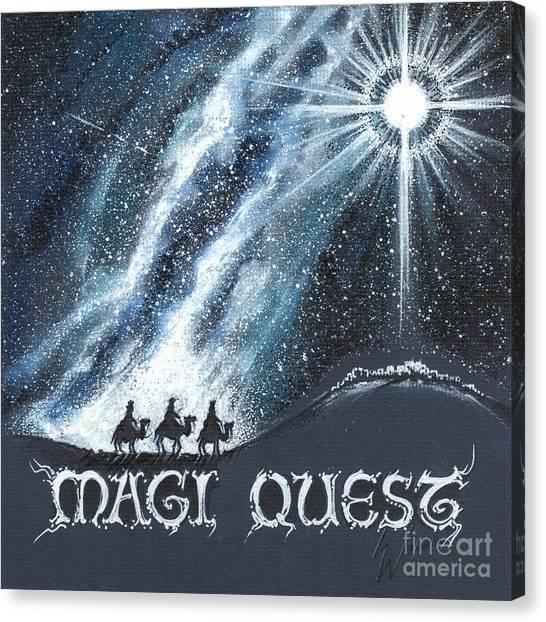 Magi Quest Canvas Print