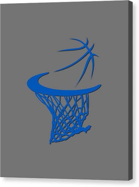 Orlando Magic Canvas Print - Magic Basketball Hoop by Joe Hamilton