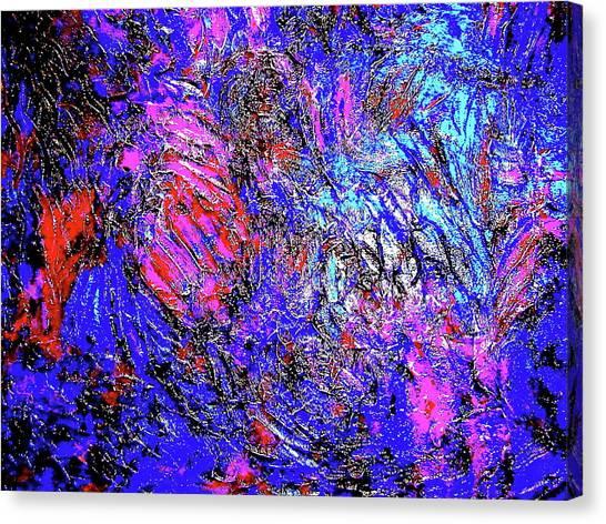 Magic Blue Canvas Print