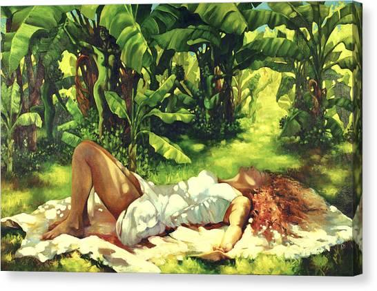 Magic Carpet Ride Canvas Print by Monica Linville