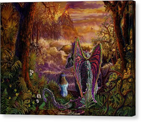 Magic Evening Canvas Print