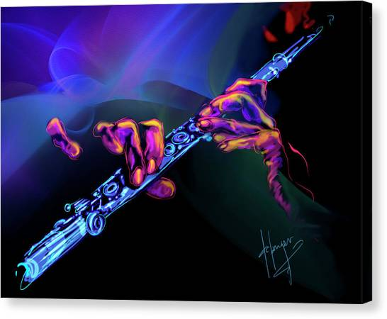 Magic Flute Canvas Print